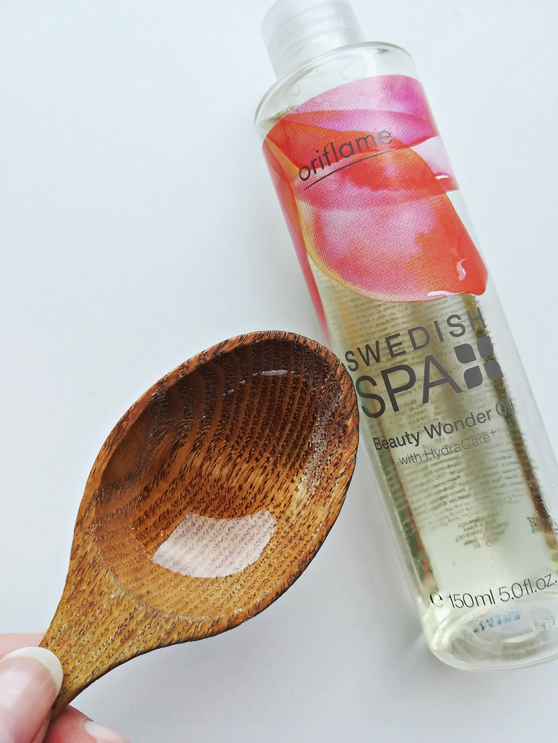 Oriflame Swedish spa Wonder Oil