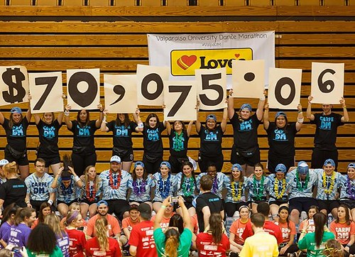 Students danced for those who can't all the way to $70,075.06!