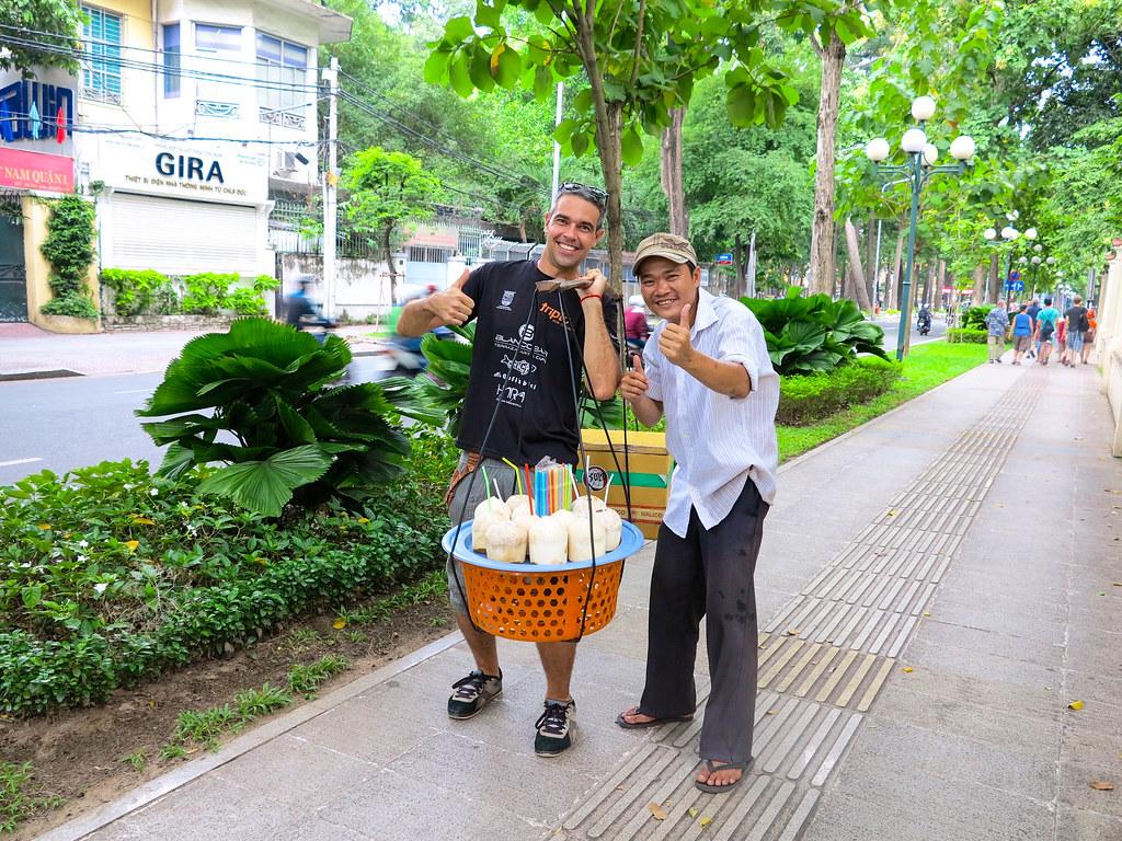 Caminando por Hanoi