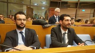 Giuseppe L'Abbate ed Emanuele Scagliusi a Roma