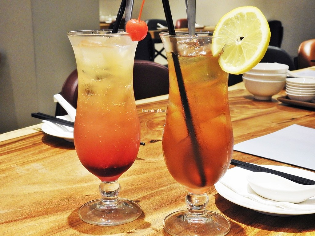 Shirley Temple Mocktail, Apple Blossom Mocktail