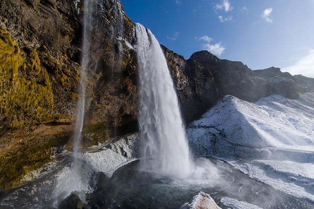 Selandjafoss in Iceland, Nikon D5300, AF DX Fisheye-Nikkor 10.5mm f/2.8G ED