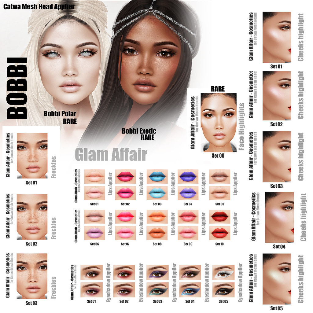 Glam Affair – Bobbi Gacha at KUSTOM9
