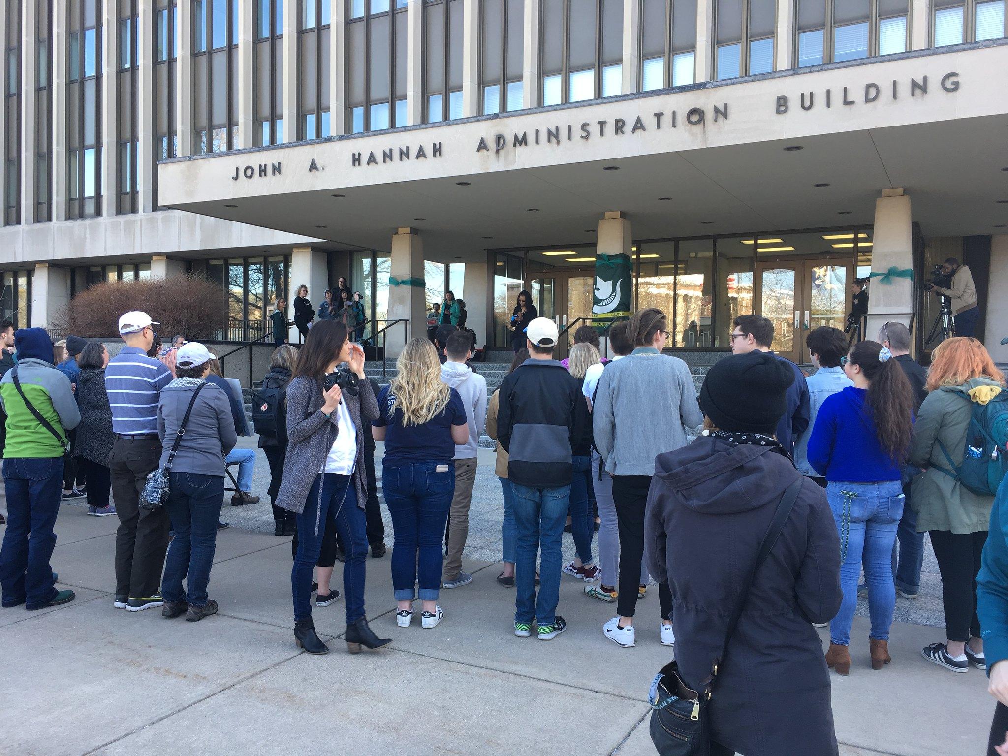 MSU Rally Calls for Resignation of Board of Trustees, Interim President Engler