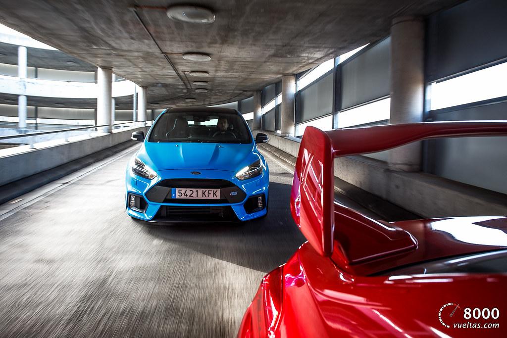 Subaru WRX STI - Ford Focus RS 8000vueltas.com-2