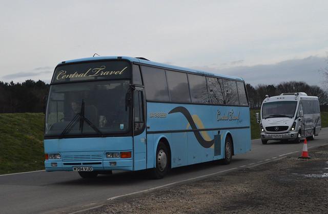 M794 VJO: Harrison t/s Central Travel, Sheffield