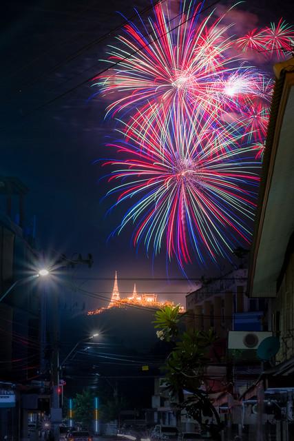 Firework show, Fujifilm X-E1, XF55-200mmF3.5-4.8 R LM OIS