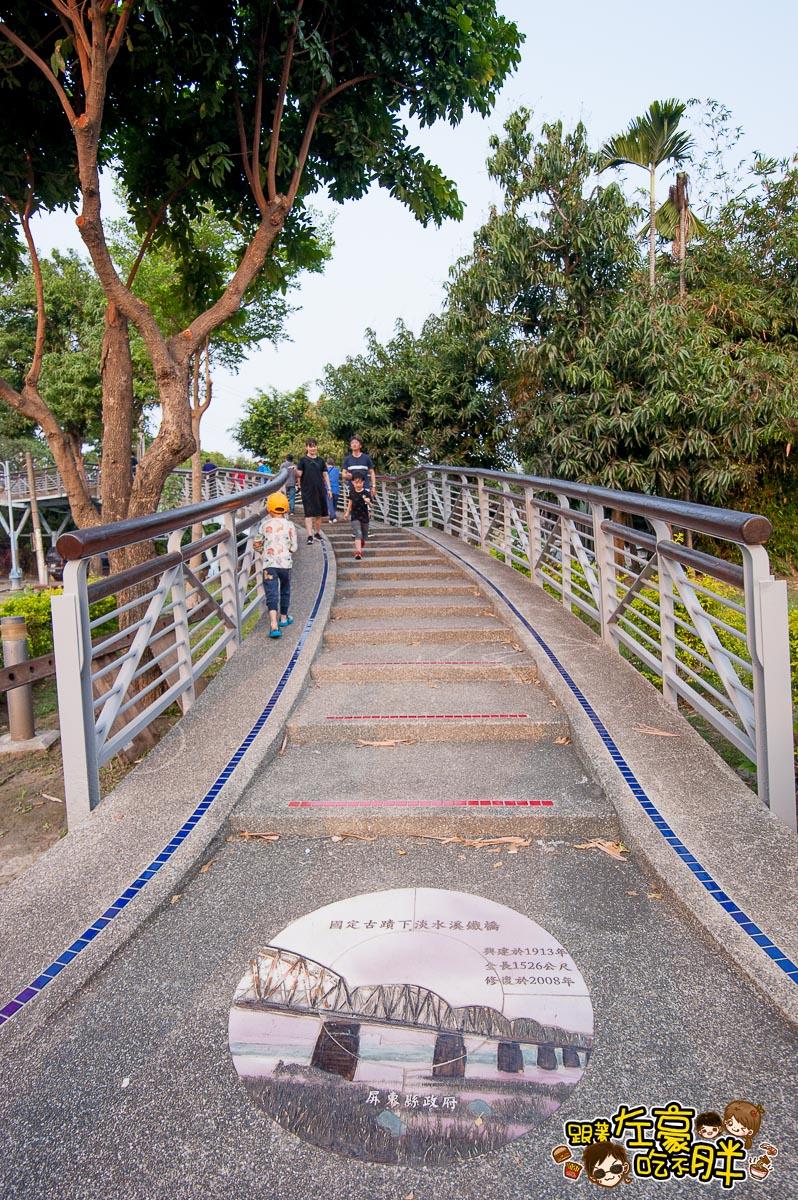 舊鐵橋(屏東端)花海-19
