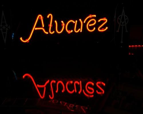 Neon Sign - Alvarez - Combs BBQ Central - Middletown, Ohio