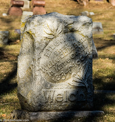 """Elbert H Welch - First White Child born in Kane County 1834 - 1904"""