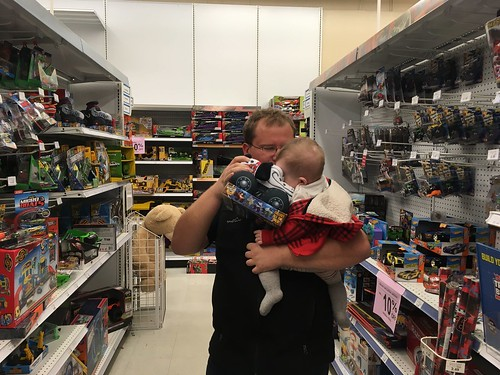 Lawrence in Toys R Us