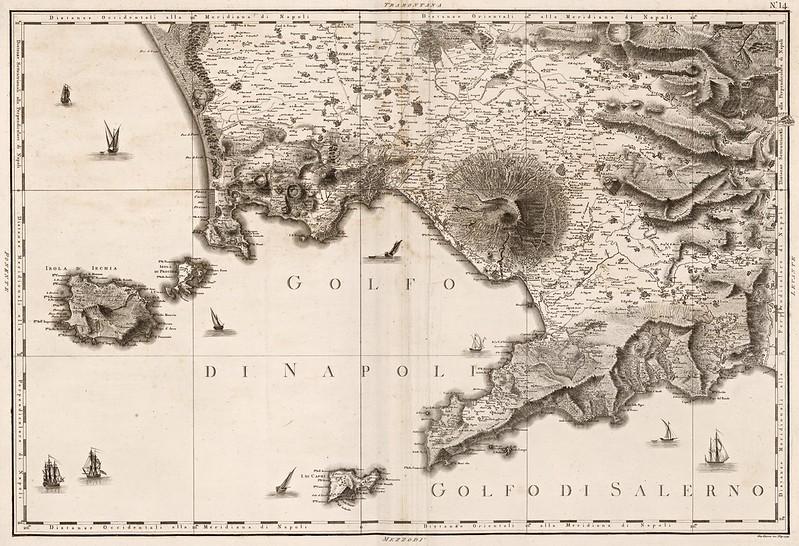 Giovanni Antonio Rizzi Zannoni - Napoli, Ischia, Procida, Capri, Salerno (1794)