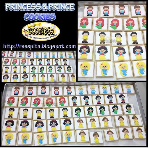 PRINCESS & PRINCE COOKIES
