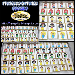 PRINCESS & PRINCE COOKIES