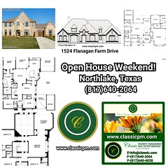 Open House 1: 2900 Prairie View Drive Northlake, Texas 76226 $700,500 Active 5 Bedrooms  5 Full Baths 1 Partial Baths #13668879  5,024 SqFt  1.180 Acres  Online Listing: http://classicpm.idxbroker.com/idx/details/listing/b018/13668879/2900-Prairie-View-Dr