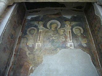 1250325_Foro_-_tempio_di_Romolo_-_Madonna_in_trono_con_Cosma_e_Damiano