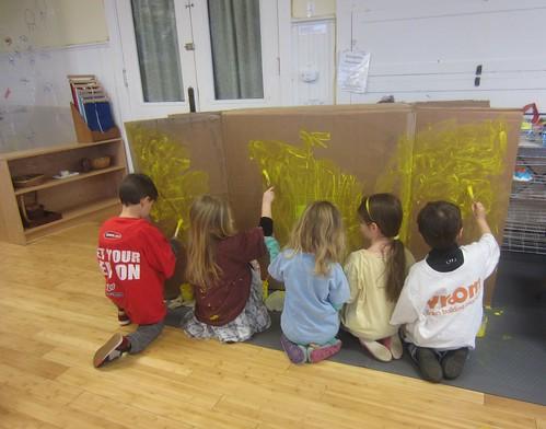 painting the yellow submarine