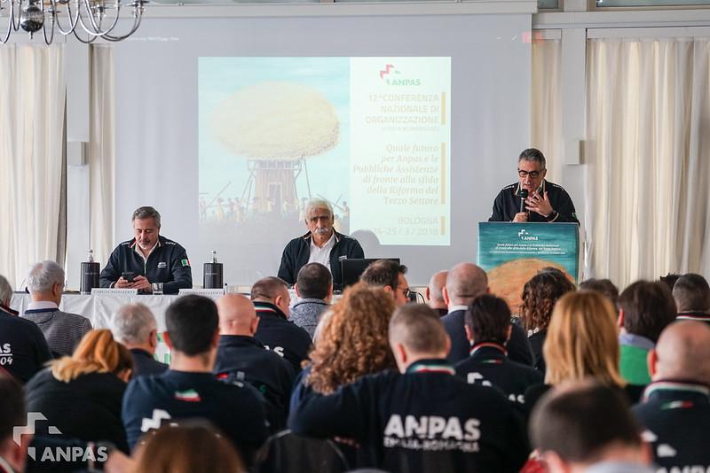 Verso il Congresso: 12^Conferenza di organizzazione Anpas, Bologna 24-25 marzo 2018