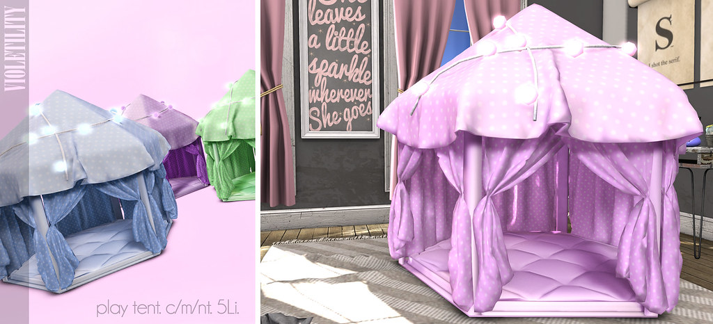 Violetility – Play Tents