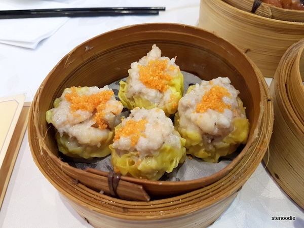 Steamed Pork Dumpling (siu mai)