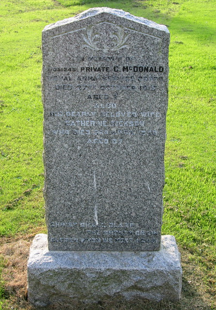 Crichton Collegiate Kirk, Grave