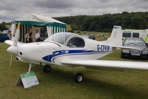 G-CFKW Alpi Aviation Pioneer 200-M (LAA 334-14828) Popham 030808