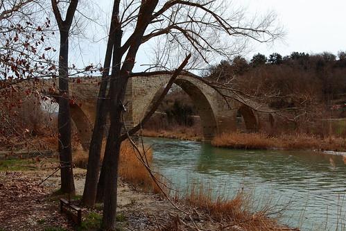 Puente de Capella, Huesca,