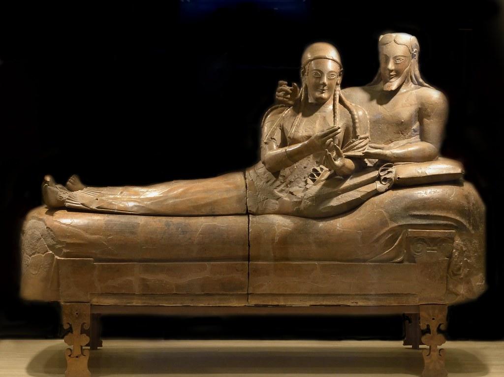 Il sarcofago degli sposi roma museo nazionale etrusco for Degli sposi