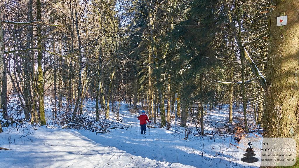 Wandern Schwäbische Alb: Aufstieg zum Volkmarsberg