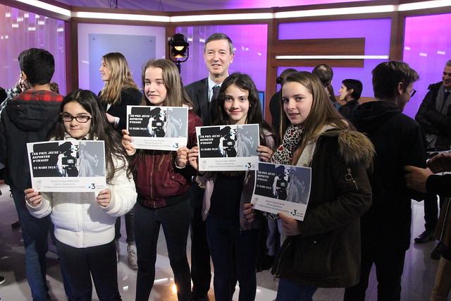 Semaine de la presse et des médias dans l'école Remise du Prix « Jeune reporter d'images »