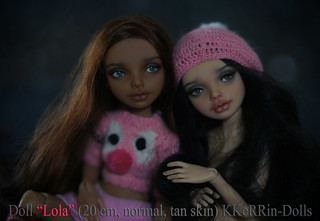 "Doll ""Lola"" (20 см, resin, normal, tan) My shop https://www.etsy.com/shop/KKeRRinDolls Магазин https://www.livemaster.ru/myshop/kerrin 