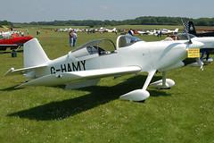G-HAMY Vans RV-6 (181-12305) Popham 080608 now G-KELX