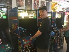 Old video games at the arcade