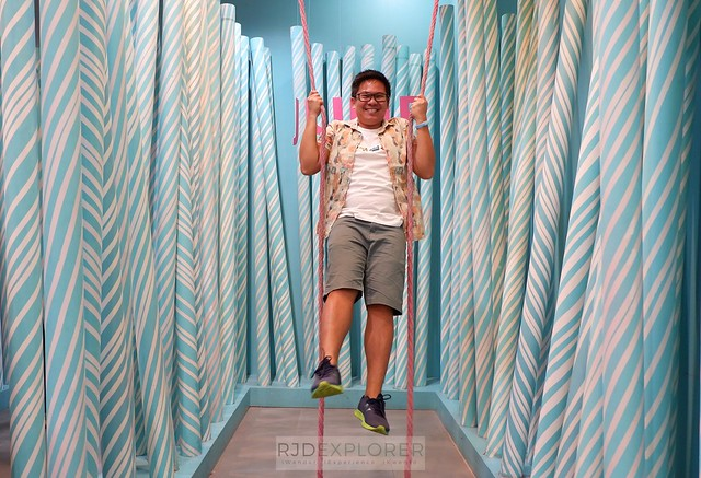 dessert museum Jump section of the Candy Cane Grove