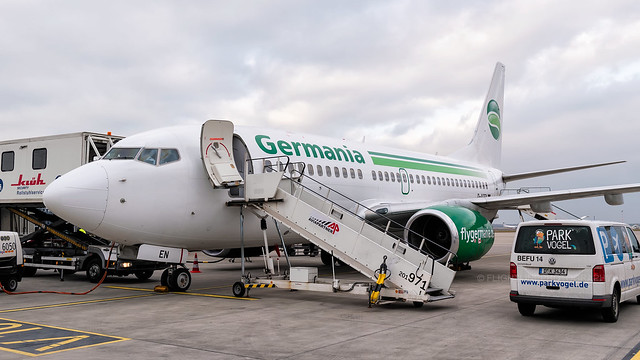 D-AGEN | Boeing 737-75B | Germania | Düsseldorf | March 2018