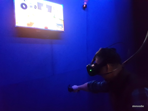 VR Zone virtual reality games