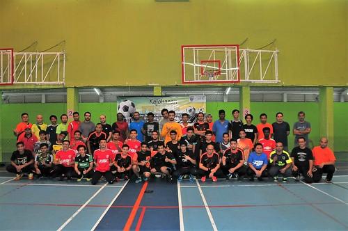 Futsal Piala Dekan Fakulti Kejuruteraan, 18 Mac 2018