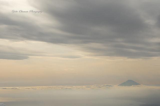 寸光と富士   Mt.Fuji