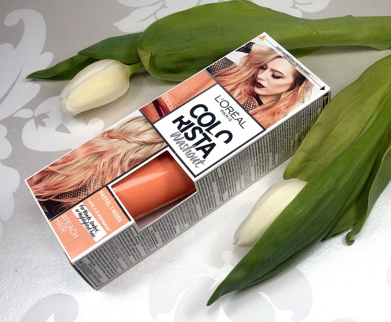 Loreal Colorista Washout Peach Hair