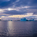 180 degrees of Antarctic Sunset