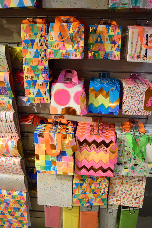 Gift Bags at Wrapped!, Canterbury
