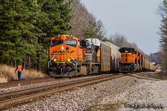 BNSF 7767 | GE ES44DC | BNSF Birmingham Subdivision