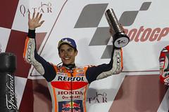Marc Márquez. Qatar GP 2018