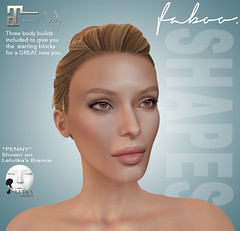 Faboo beach Bodies: new shapes for Maitreya and Lelutka