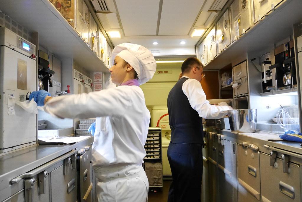 土耳其航空空中廚師