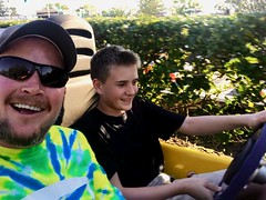 Watch out - Jack is driving!