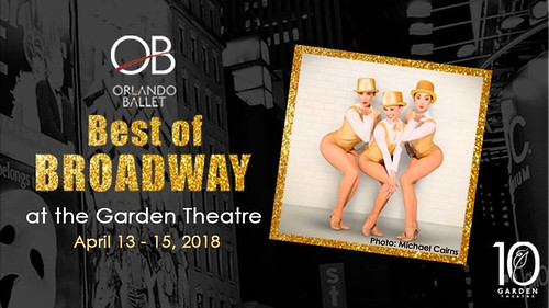 "Orlando Ballet's ""Best of Broadway"" at the Garden Theatre"