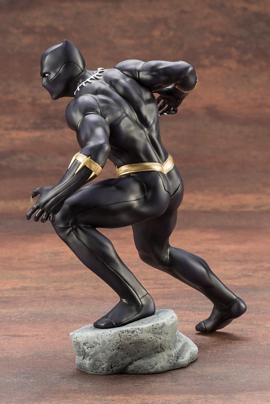 人氣勢不可擋的帝王! 壽屋 ARTFX+ 系列 Marvel Comics【黑豹】ブラックパンサー