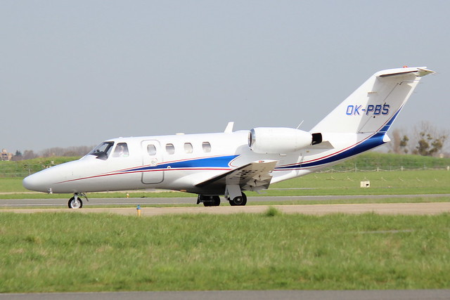 T-air CitationJet 1 OK-PBS (LBG), Canon EOS 600D, Canon EF-S 55-250mm f/4-5.6 IS II