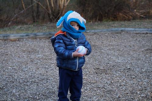 Ezra (21 months) in playground